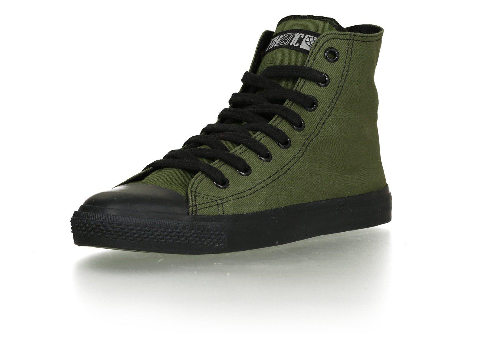 Sneaker aus nachhaltiger Produktion »Black Cap Hi Cut Classic«, schwarz, Jet Black - Jet Black Ethletic